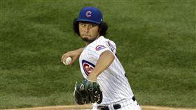 ▲芝加哥小熊日本投手達比修有2020年首勝。(圖/美聯社/達志影像)