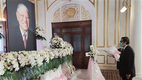 馬英九追悼李登輝,台北賓館,臉書