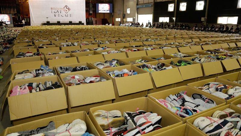 募集5萬雙愛心鞋 偏遠學童洗鞋送愛到非洲