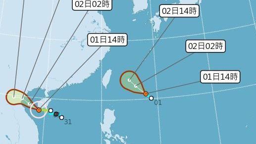 三立準氣象0801/「哈格比」若生成 最快明早發海警