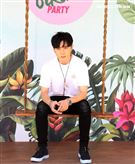 唐禹哲出席柯夢波丹夏日比基尼派對。(記者邱榮吉/攝影)