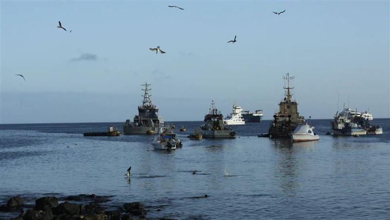 260艘中國漁船 集結東太平洋作業引起厄瓜多恐慌