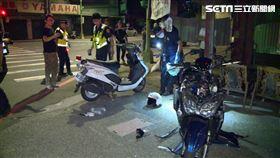 警騎車執勤鳴笛過路口 遭無照未成年撞飛命危