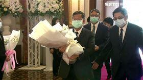 鄭文燦赴台北賓館追悼李登輝
