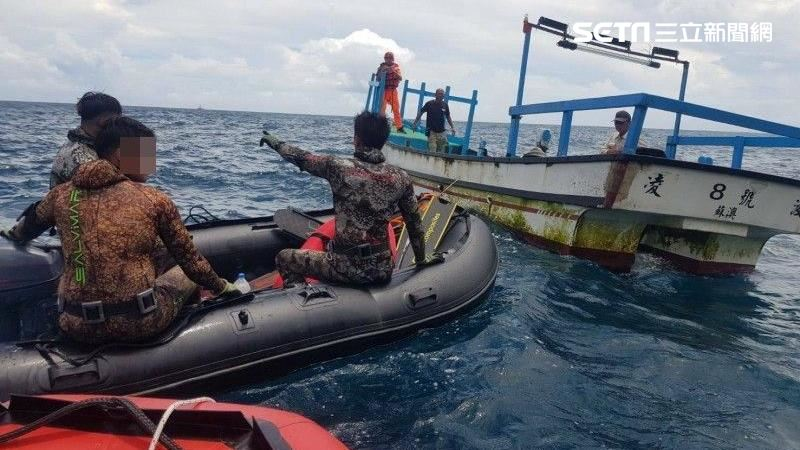 宜蘭失聯潛水客找到了  他沉16公尺深海…已成冰冷遺體