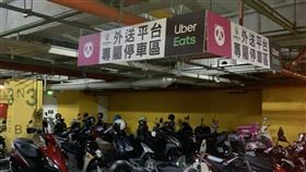 外送停車專區被佔用…他貼紙條狂嘲諷(圖/翻攝自靠北熊貓 2.0臉書)