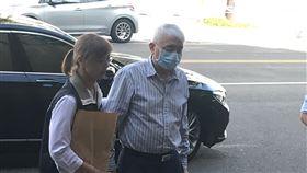 ▲太流建設董事長李恆隆被移送至台北地檢署複訊。(圖/記者楊佩琪攝)