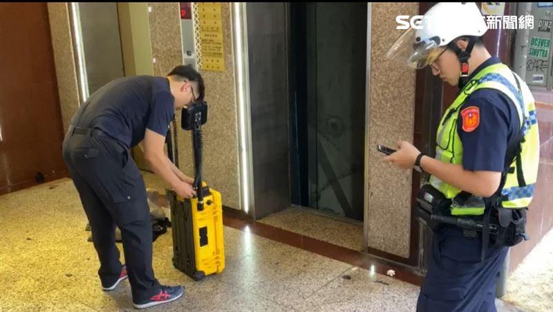 快訊/西門町獅子林大樓駭人命案!1男慘遭電梯夾死