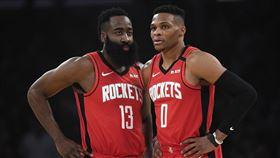 NBA/3MVP過招!鬍龜力克字母 NBA,休士頓火箭,James Harden,Russell Westbrook 翻攝自推特