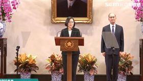 蔡英文記者會宣布李大維任秘書長