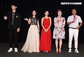 「天之驕女」演員王品浩、華千涵、張靜之、劉沛緹、林佑星。(記者邱榮吉/攝影)