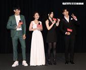 「天之驕女」演員李家慶、陳子玄、韓瑜、黃少祺。(記者邱榮吉/攝影)