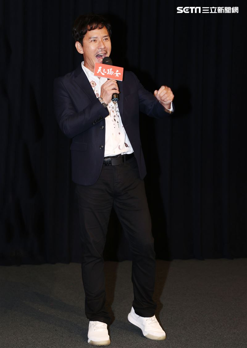 「天之驕女」演員王耿豪。(記者邱榮吉/攝影)
