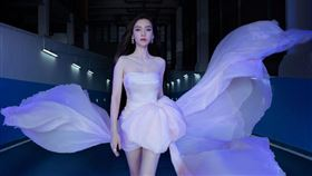 中國女星Angelababy。(圖/翻攝自微博)