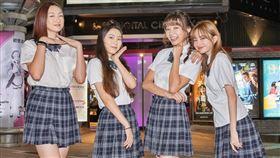 Yuri,哈囉少女,陳怡叡,開球,桃猿 圖/双喜電影提供