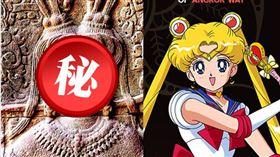 近來,有遊客意外發現,柬埔寨吳哥窟一處仙女浮雕圖,竟神似日本知名人氣動漫《美少女戰士》女主角月野兔。(圖擷取自臉書_Asian SEA Story)