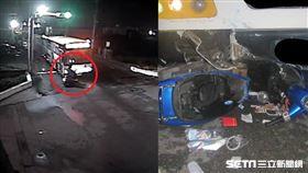 女闖紅燈左轉遇死劫/翻攝畫面