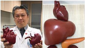 陳志金醫師也說,為了填補被取走的器官,我們會把「3D列印器官」填補回原位,讓家屬安心。(圖/翻攝自Icu醫生陳志金)