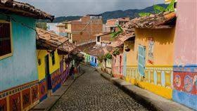 哥倫比亞,瓜塔佩,瓜塔佩巨岩。(圖/Pixabay)