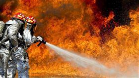 火災。(圖/Pixabay)