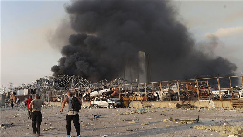 圖/黎巴嫩爆炸如煉獄 78死4千傷