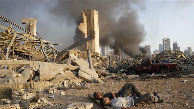 黎巴嫩大爆炸 震波強!至少10人死