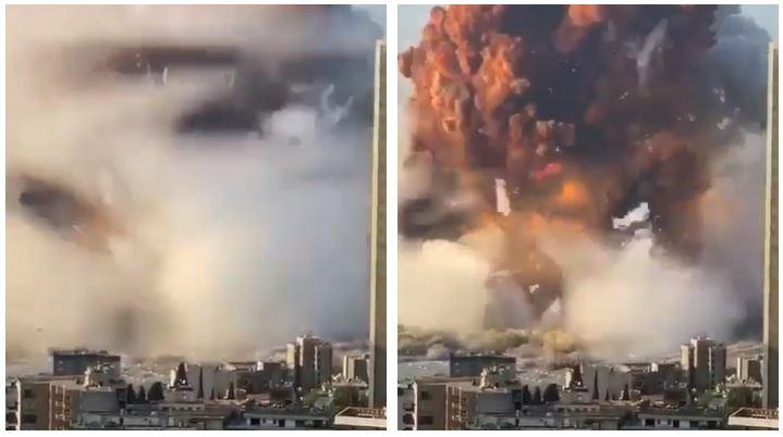 新/黎巴嫩爆炸!38秒驚恐瞬間流出