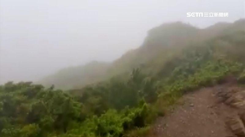 他攀百岳初體驗 「稜線」狂風險翻帳