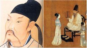 李白,《韓熙載夜宴圖》,據宋《宣和畫譜》所載為五代十國南唐畫家顧閎中的作品(翻攝自維基百科)
