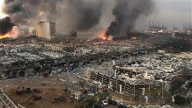 黎巴嫩大爆炸(圖/翻攝自推特)