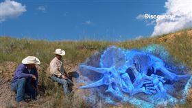 最夯斜槓挖寶人!尋找恐龍化石當副業可賺上百萬美金?(圖/Discovery提供)