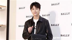 江宏傑出席BALLY秋冬新品系列發布會。(圖/記者林聖凱攝影)