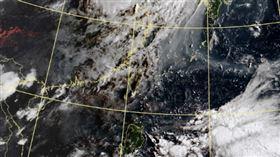 衛星雲圖 圖翻攝自氣象局