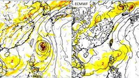 2熱帶擾動蠢蠢欲動?模擬動向近台灣 下周劇烈天氣防雷雨 圖/吳德榮