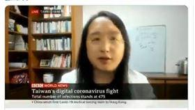 「政府相信民眾」唐鳳BBC介紹台灣防疫:快速公平加趣味 圖翻攝自唐鳳推特