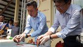 林智堅潘孟安邀巧克力職人宣傳設計展