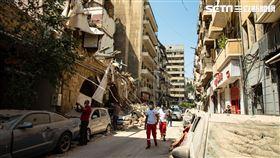 黎巴嫩,貝魯特,大爆炸,世界展望會(圖/台灣世界展望會提供)