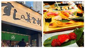 「美登利壽司」台灣台北1號店位在競爭激烈的大安區。(組合圖/記者鍾釗榛、洪玲明攝影)