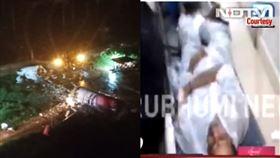 印度,波音737,降落失敗,衝出跑道,醫院,傷患