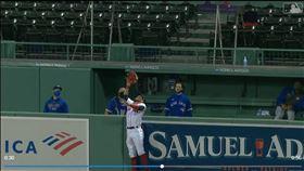 ▲韋杜戈(Alex Verdugo)沒收全壘打。(圖/翻攝自MLB官網)