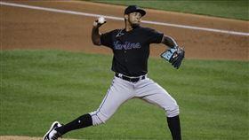 ▲邁阿密馬林魚投手Humberto Mejia最高層級打到進階1A,直升大聯盟初登板。(圖/美聯社/達志影像)