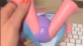玩具,私處,按鈕,嬌喘