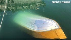 海釣,翻船,新北,波特船 翻攝畫面