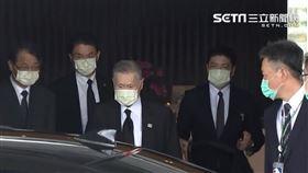 前日本首相森喜朗抵台。