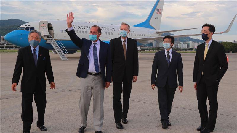 美國衛生部長抵台 外交部誠摯歡迎:相信能強化台美合作!
