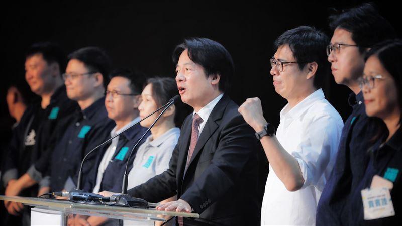 一起做陳其邁後盾!賴清德喊話:讓得票數超過罷韓的93萬