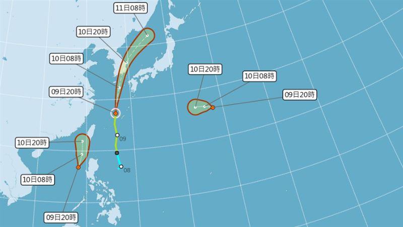 熱帶低壓生成逼近台灣!不排除增強為颱風「米克拉」