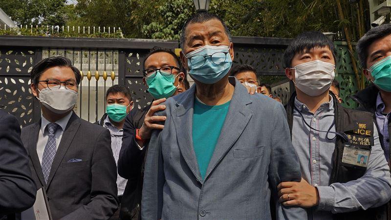 黎智英被捕 聯合國人權辦公室深表關切:修正國安法