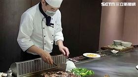 鐵板燒(圖/記者邱榮吉攝影)