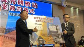 環狀線秀朗橋站 新北市政府首件土地開發案正式啟動(圖/新北市政府)